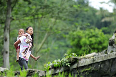 Indonesische mensen Royalty-vrije Stock Foto's