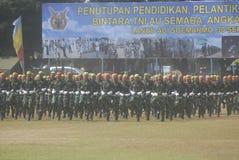 INDONESISCHE MILITAIRE HERVORMING Royalty-vrije Stock Foto's