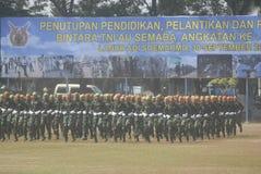 INDONESISCHE MILITAIRE HERVORMING Stock Fotografie
