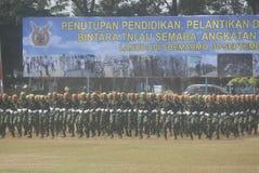 INDONESISCHE MILITAIRE HERVORMING Stock Foto's