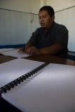 INDONESISCHE MOSLEMISCHE KÖRPER FÜR TODESstrafe ZU DEN DROGENHÄNDLERN Lizenzfreie Stockbilder