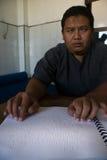 INDONESISCHE MOSLIMorganismen VOOR DOODSTRAF AAN DRUGDEALERS Stock Foto's