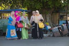 Indonesische moslimvrouwen Stock Fotografie