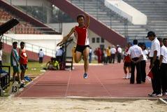 INDONESISCHE PARALYMPIC Stock Foto's