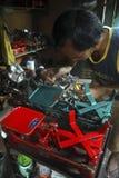 INDONESISCHE RUPIE SECHS JAHRE NIEDRIGE TROPFEN- Lizenzfreie Stockfotografie