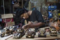 INDONESISCHE RUPIE-TIEFSTER STAND Stockfotografie