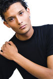 Indonesische Schulter-Portraits stockfotos