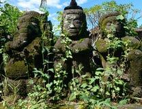 Indonesische Statuen Stockfotografie