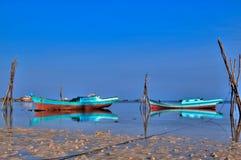 Indonesische Vissersboot Stock Afbeeldingen