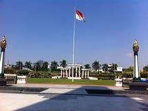 INDONESISCHE VLAG Stock Afbeeldingen