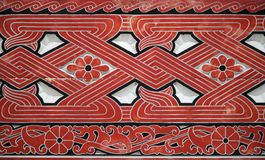 Indonesische Wand 1 Lizenzfreies Stockfoto