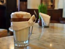 Indonesische witte koffie Royalty-vrije Stock Foto's