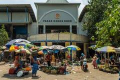 Indonesischer Markt stockbilder