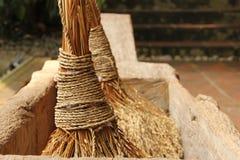 Indonesischer Reis-Stampfer Lizenzfreie Stockfotografie