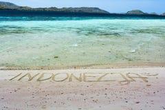 Indonesischer Strand Lizenzfreie Stockfotos