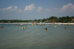Indonesischer Strand Lizenzfreies Stockbild