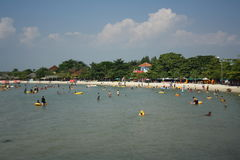 Indonesischer Strand Stockfotografie