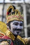 Indonesischer traditioneller Krieger Stockfoto