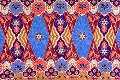 Indonesisches Batik-Muster Lizenzfreies Stockbild