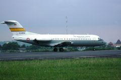 Indonesisches Militärflugzeug Stockfoto