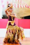 Indonesisches Tanzen lizenzfreies stockfoto