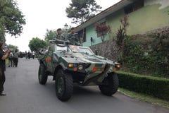 Indonesisk armé Royaltyfri Bild