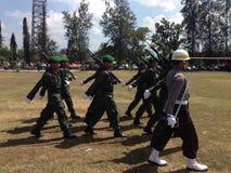 Indonesisk armé Royaltyfri Foto