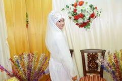 Indonesisk brud Royaltyfri Fotografi