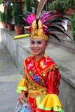 Indonesisk flicka royaltyfria bilder