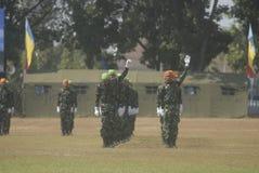 INDONESISK MILITÄR REFORM Royaltyfri Fotografi