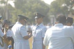 INDONESISK MILITÄR REFORM Royaltyfria Bilder