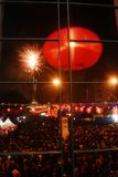 INDONESISK NATIONELL IDENTITET FÖR KINESISK NEDSTIGNING royaltyfria bilder