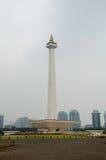 Indonesisk nationell monument arkivbilder