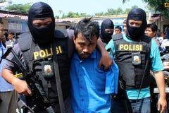 indonesisk polis Arkivfoton