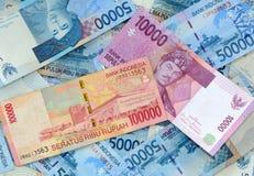 indonesisk rupiah Royaltyfria Foton