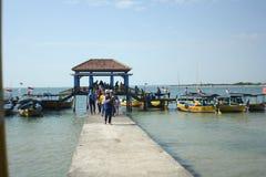 Indonesisk strand Royaltyfri Fotografi