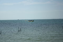Indonesisk strand Arkivbilder