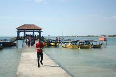Indonesisk strand Royaltyfria Foton