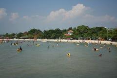 Indonesisk strand fotografering för bildbyråer