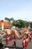 Indonesiska Carnaval Royaltyfri Foto