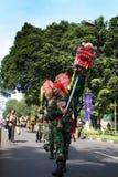 Indonesiska Carnaval Arkivfoto