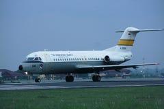 Indonesiskt militärt flygplan Royaltyfri Bild