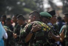 INDONESISKT MILITÄRT OMSTRUKTURERINGSPLAN FÖR TNI Royaltyfri Foto