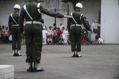 INDONESISKT MILITÄRT OMSTRUKTURERINGSPLAN FÖR TNI Fotografering för Bildbyråer