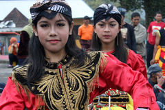 IndonesReog ponorogo Royaltyfria Foton