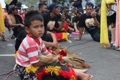 IndonesReog ponorogo Arkivbild
