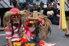 IndonesReog ponorogo Royaltyfri Foto