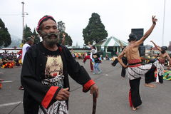 IndonesReog ponorogo Arkivfoto