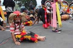 IndonesReog ponorogo Arkivfoton