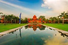 Świątynia świt Zdjęcia Royalty Free
